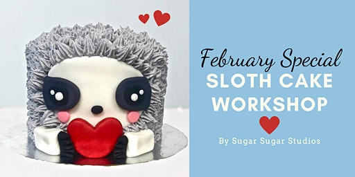 Cake Decorating: Sloth Cake Workshop (Bonus Edition: Heart)