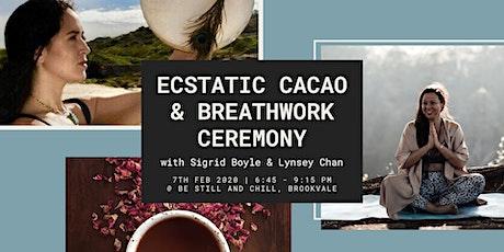 Ecstatic Cacao & Breathwork Ceremony - N Beaches tickets