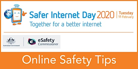 Online Safety Tips - Safer Internet Day 2020 - tickets