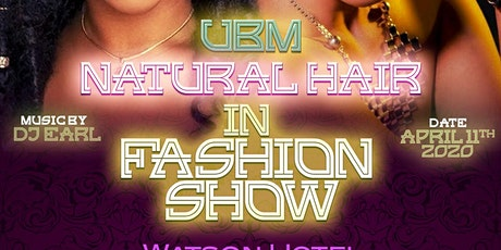 UBM Natural Hair in Fashion tickets
