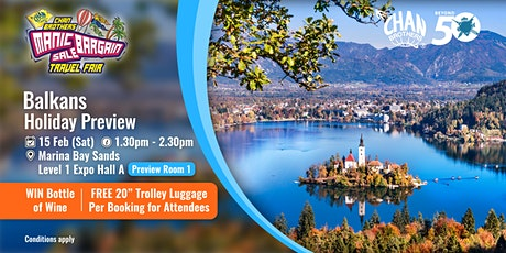 Balkans Holiday Preview  tickets