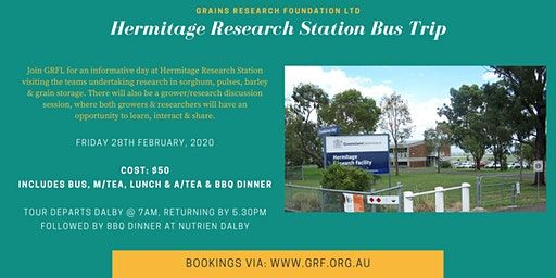 GRFL Hermitage Research Station Bus Trip