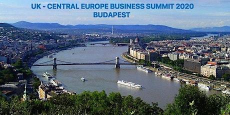 UK – CENTRAL EUROPE BUSINESS SUMMIT A TECHNOLÓGIA ÉS AZ INNOVÁCIÓ JEGYÉBEN tickets