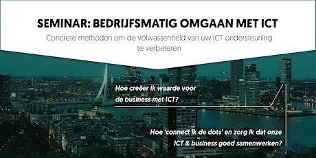 Bedrijfsmatig omgaan met ICT tickets