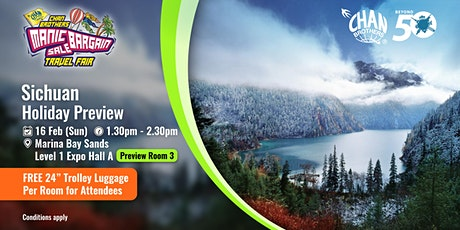 Sichuan Holiday Preview  tickets