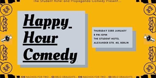 Happy Hour Comedy #1 w/ FREE SHOTs
