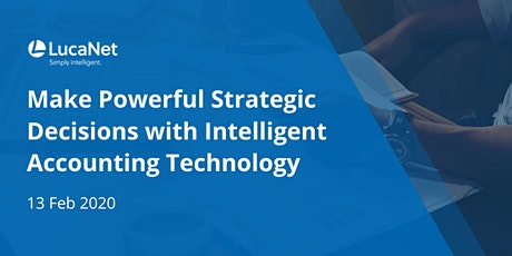 Make Powerful Strategic Decision with Accounting Technology tickets