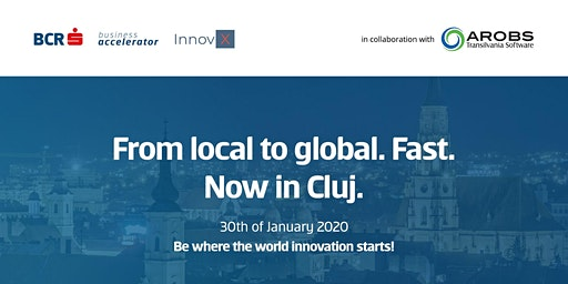 InnovX BCR Accelerator Launch in Cluj