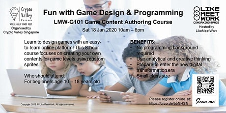 LMW-G101 Game Content Authoring tickets