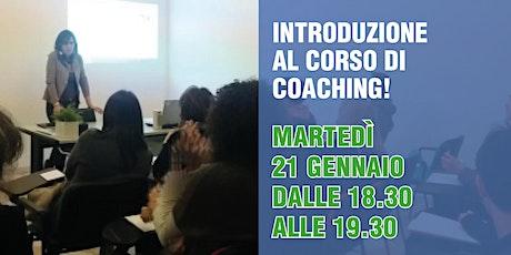 Introduzione al CORSO di COACHING! biglietti
