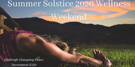 Summer Solstice Wellness Weekend tickets