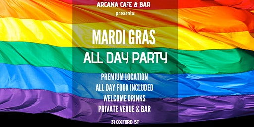 MARDI GRAS - ALL DAY PARTY