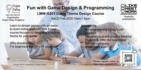 LMW-G201 Game Theme Design tickets