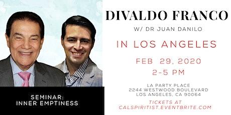 Seminar: Inner Emptiness (Divaldo in LA) tickets