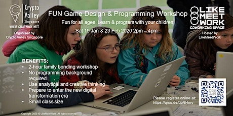 Fun with Game Design & Programming Workshop tickets