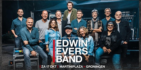 Edwin Evers Band in Groningen (Groningen) 17-10-2020 tickets