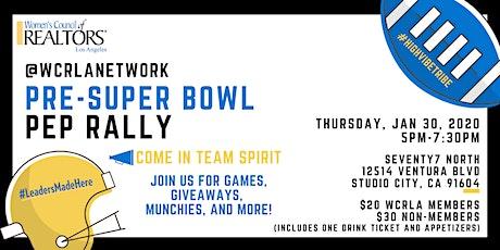 Pre-Super Bowl Pep Rally tickets