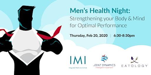 Men's Health Night: Strengthening your Body & Mind for Optimal Performance