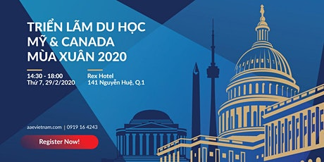 [Tp.HCM] Triển Lãm Du Học Mỹ & Canada Mùa Xuân 2020 tickets