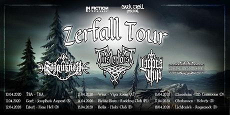 Zerfall European Tour 2020 - Wien (AT) - Viper Room Tickets
