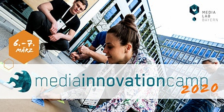 Media Innovation Camp 2020 - Bewerbung Tickets