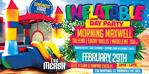 Dangerous Goods Ent | Inflatable Day Party ft. Morning Maxwell