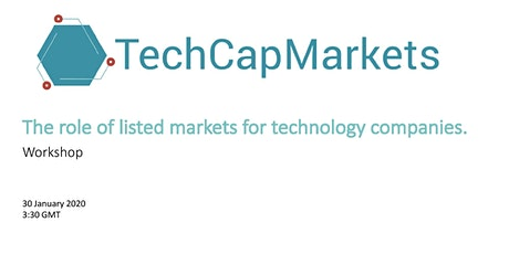 The role of listed markets for technology companies tickets