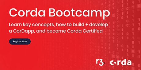 Corda Blockchain Bootcamp - Bangalore tickets