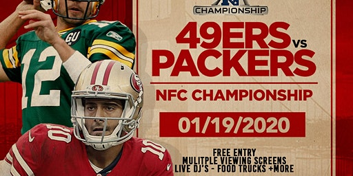 NFC Championship Viewing Party @ The Valencia Room, SF01/19/2020