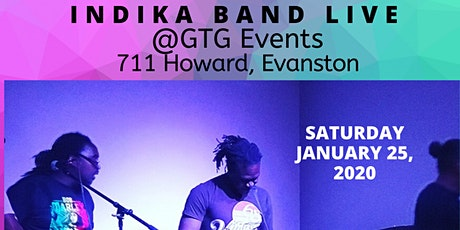 INDIKA BAND LIVE @GOOD TO GO EVENTS tickets