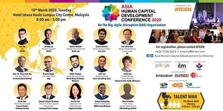 Asia Human Capital Development Conference 2020 tickets