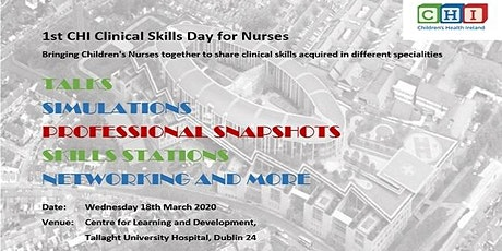 1st CHI Clinical Skills Day for Nurses tickets