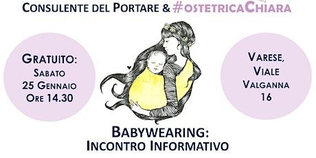 GRATUITO: Babywearing, Portare in Fascia biglietti