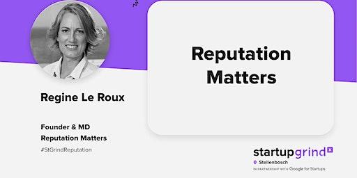 Startup Grind Stellenbosch hosts Regine Le Roux