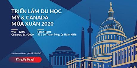 [Hà Nội] Triển Lãm Du Học Mỹ & Canada Mùa Xuân 2020 tickets