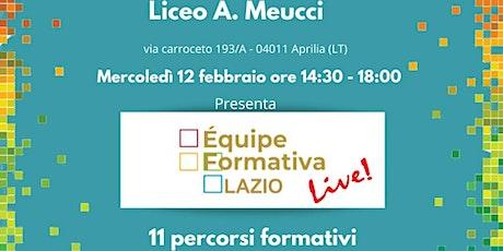 Formazione Meucci E. Sera  - Stampante 3D nella didattica biglietti