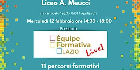 Formazione Meucci E. Casanova - Da Flowgorithm ad App Inventor biglietti
