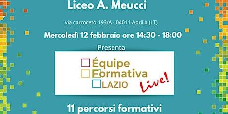 Formazione Meucci A. A. D'Arpino - Progettazione contenuti didattici biglietti