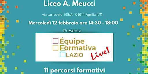 Formazione Meucci A. A. D'Arpino - Progettazione contenuti didattici