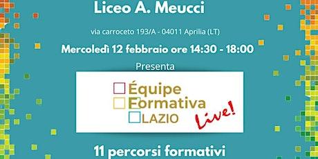 Formazione Meucci C. Caretta - Modellazione 3D tramite coding biglietti