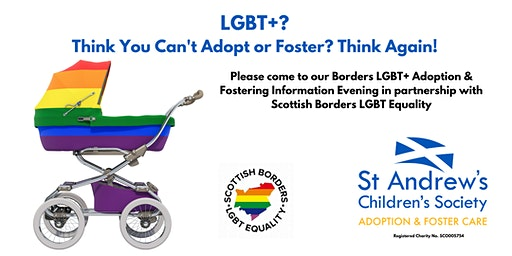 LGBT+ Adoption & Fostering Information Evening at Mac Arts, Gala, Borders