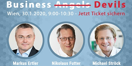 Launch Event: Business Angel Buch mit Business-Angel-Podium + Q&A (Wien) tickets