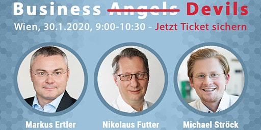 Launch Event: Business Angel Buch mit Business-Angel-Podium + Q&A (Wien)