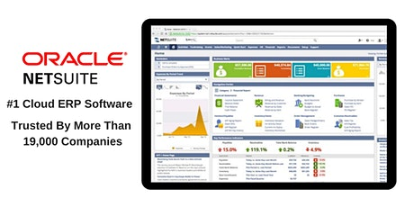 Scale Up Your Retail business With Oracle NetSuite - #1 Cloud ERP Software tickets