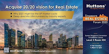 Singapore Real Estate Forum 2020 tickets