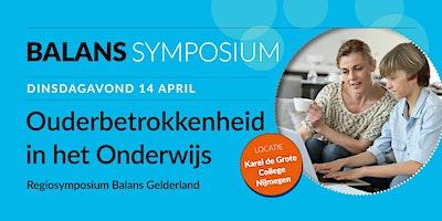 Ouderbetrokkenheid in het Onderwijs - Regiosymposium Balans Gelderland