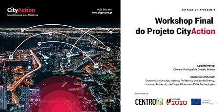 Workshop final do Projeto CityAction bilhetes