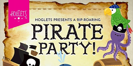 Hoglets Half Term Pirate Party tickets