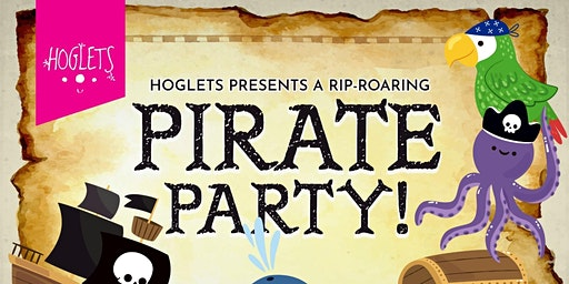 Hoglets Half Term Pirate Party