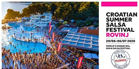 SkyDANCE *Exclusive* 15 Plus% for Croatia Summer Salsa Festival tickets